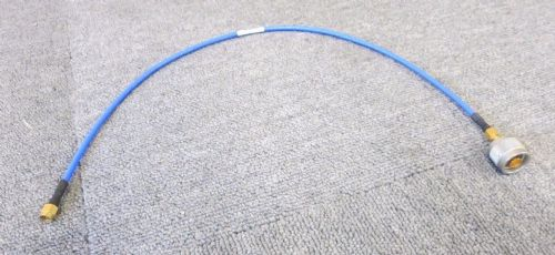 Straight N Plug Male To Straight SMA Plug Male 0.5M Blue Coaxial RF Cable